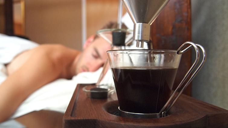 İşte kahve pişiren çalar saat