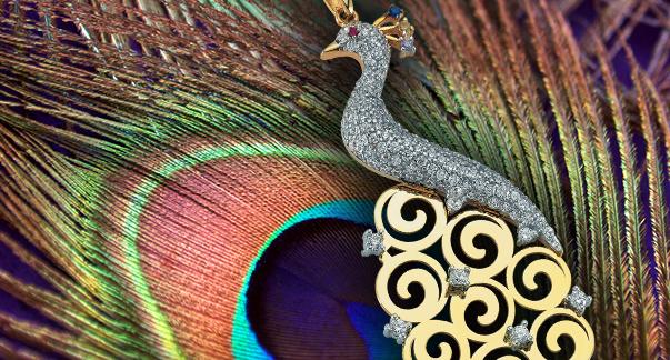 Tavus kuşunun zarifliğini yakalayın