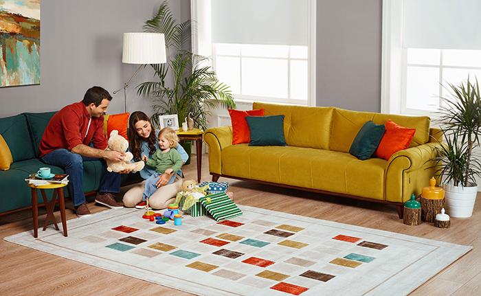 En güzel renklerle evinizi yenileyin