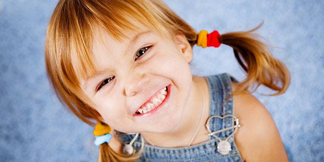 Çocuklar hayata sağlıkla gülümsedi