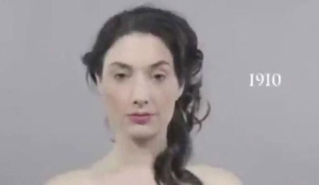 Makyajın 100 yıllık gelişimi