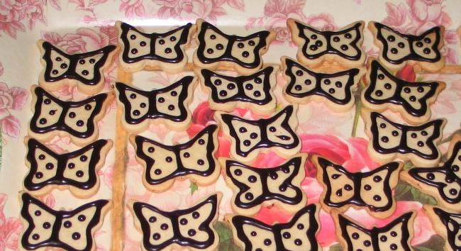 Desenli çikolatalı kurabiye