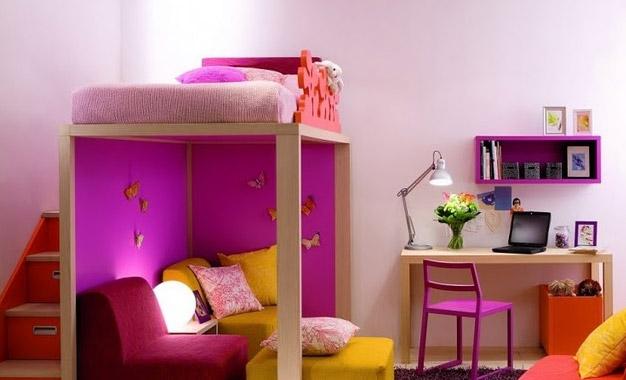 Genç odası dekorasyonu için harika fikirler