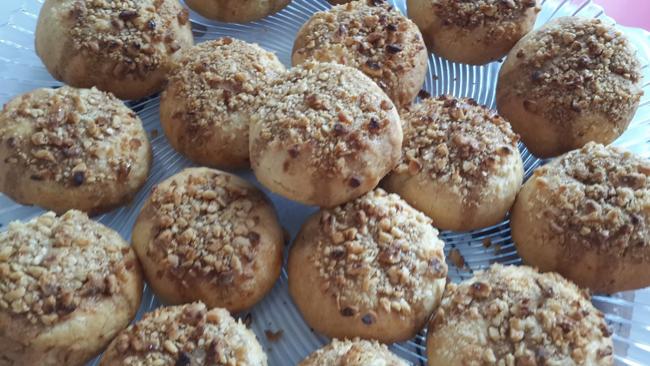 Tarçın kokulu cevizli kurabiye