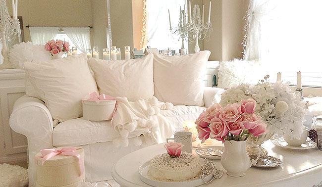 En romantik dekorasyonlar