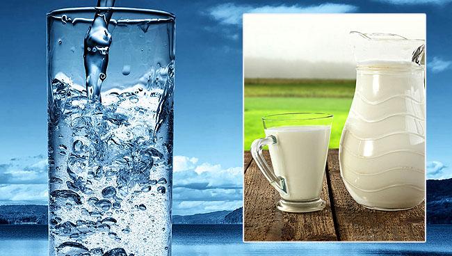 Su ve süt neden aynı fiyata satılıyor?
