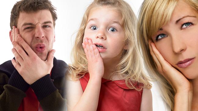 Diş ağrısını dindirmenin kolay yolu