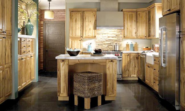 Rustik tarz mutfak tasarımı