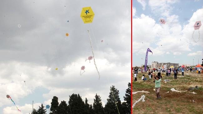 İstanbul'da gökyüzünü süsleyen etkinlik