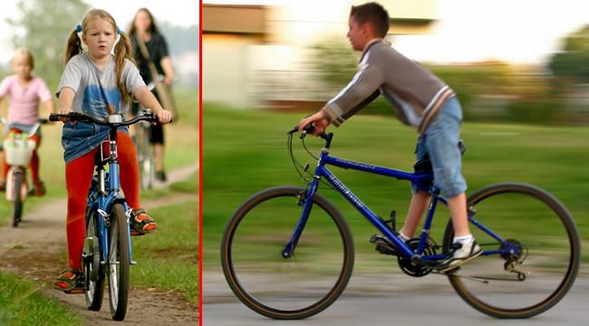 Çocuklara bisiklet eğitimi fırsatı