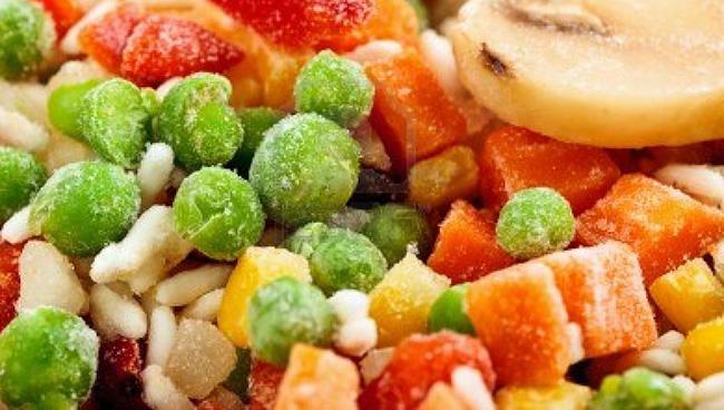 Dondurulmuş gıdaları suda çözdürmeyin