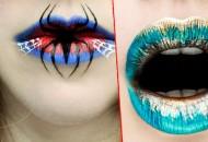 En farklı dudaklar