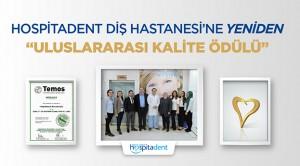 Hospitadent'e Uluslararası Kalite Ödülü