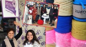 Kadınlar 'Ortak Hayaller'de üretiyor